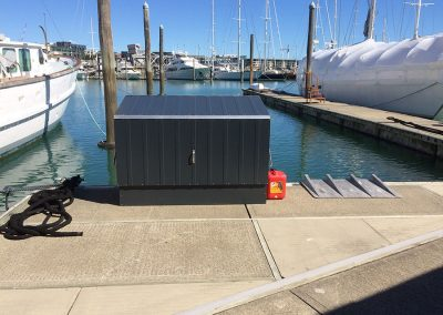 BikeBox at marina