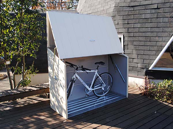 Secure Bicycle Storage. Urban Shed
