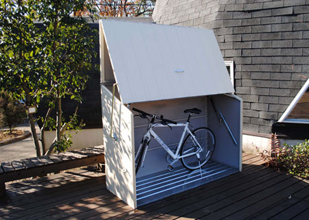 bike storage box - the BikeBox Slimline