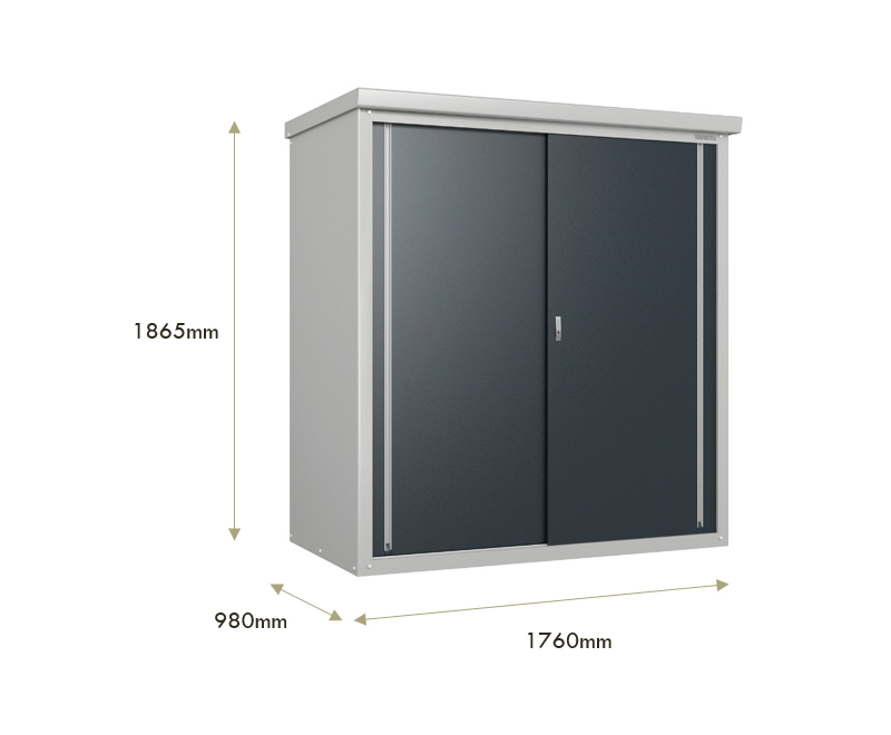 dimensions of the urban shed