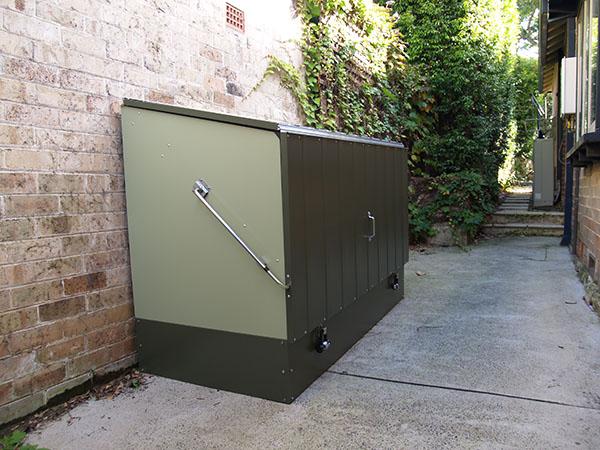 bicycle storage box