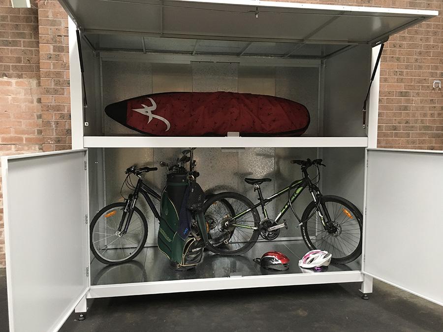 apartment garage storage box